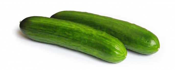 Smooth skinned cucumbers
